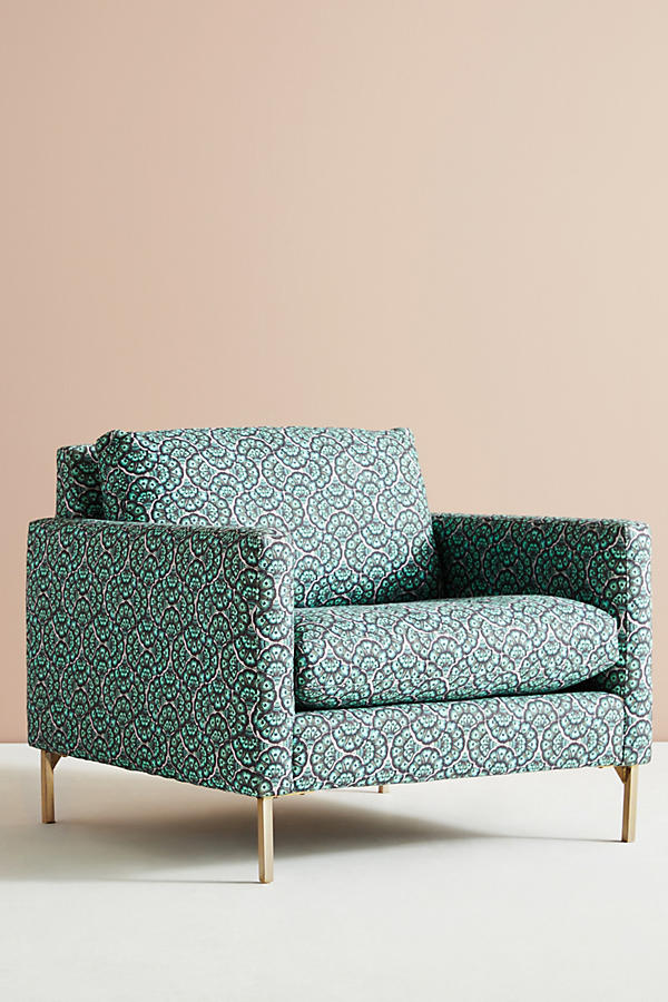 Slide View: 3: Chaise Angelina Feather Fan Liberty for Anthropologie