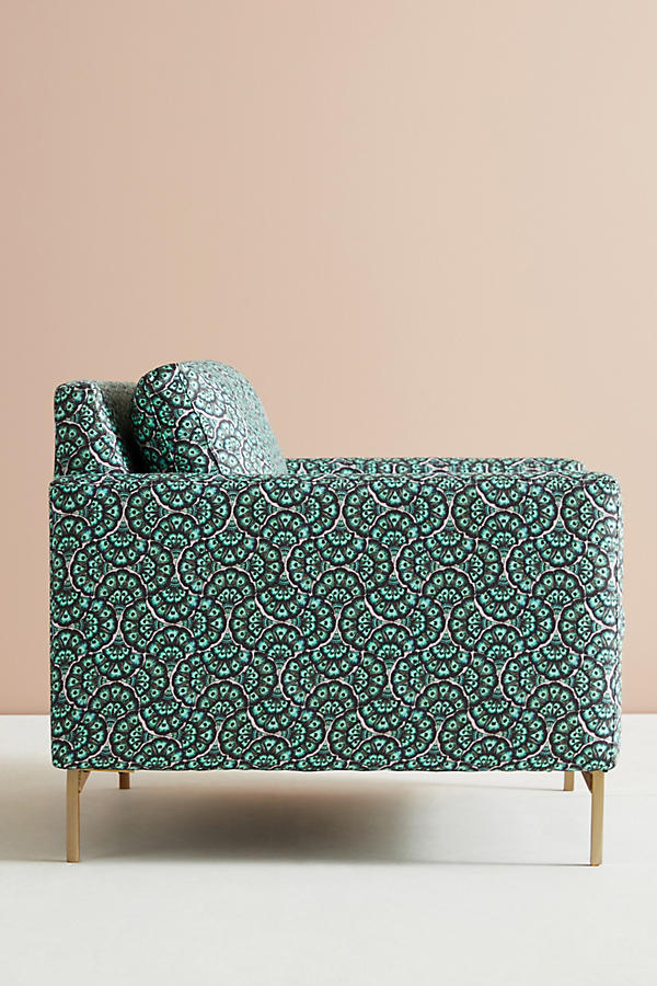 Slide View: 4: Chaise Angelina Feather Fan Liberty for Anthropologie