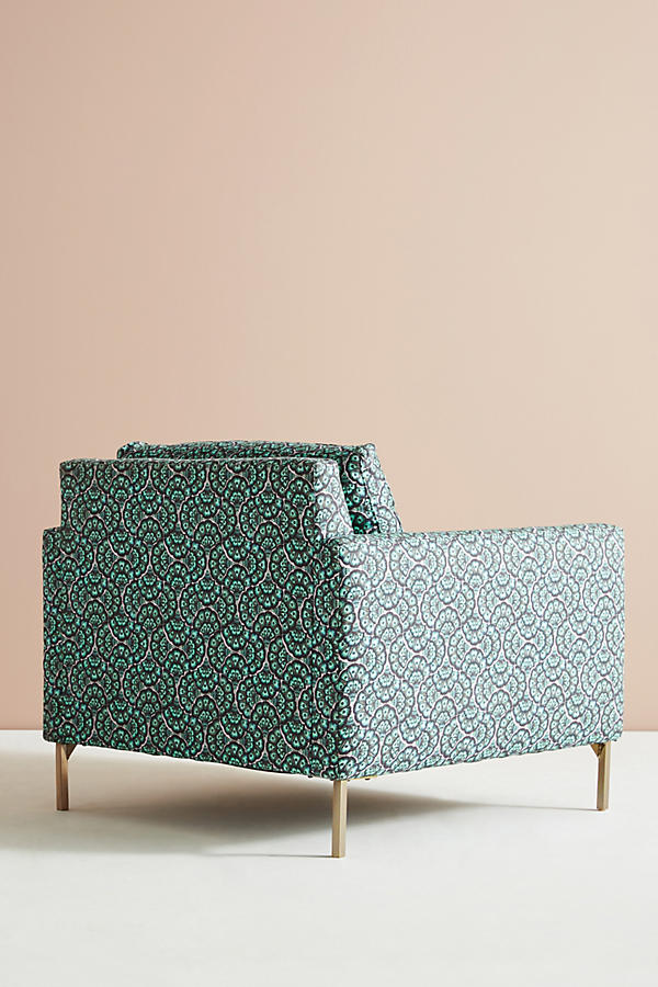 Slide View: 5: Chaise Angelina Feather Fan Liberty for Anthropologie