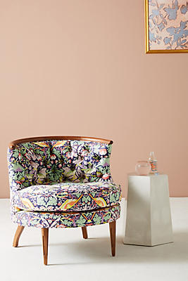 Slide View: 1: Liberty For Anthropologie Strawberry Thief Bixby Chair