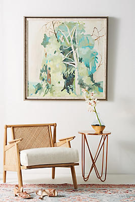 Slide View: 1: Messy Thicket Wall Art
