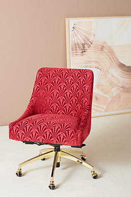 Slide View: 1: Elowen Swivel Office Chair