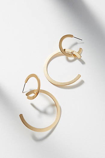 Semicircle Drop Earrings