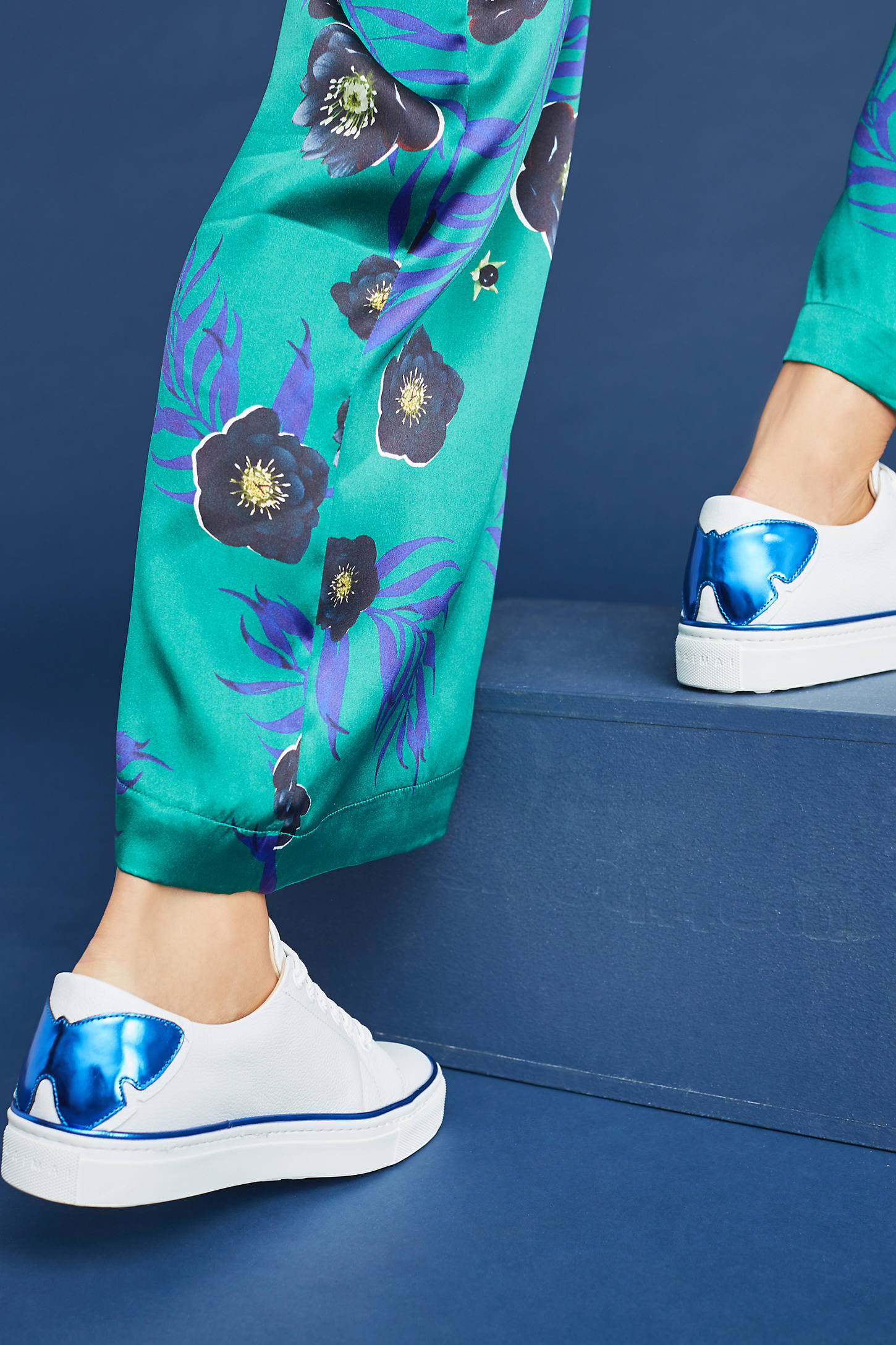 Maimai Edith Metallic Butterfly Sneakers