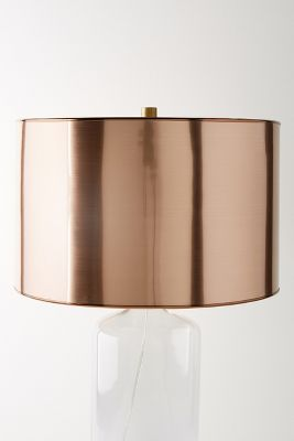 Metallic L& Shade & Chandeliers u0026 Lamps On Sale | Anthropologie azcodes.com