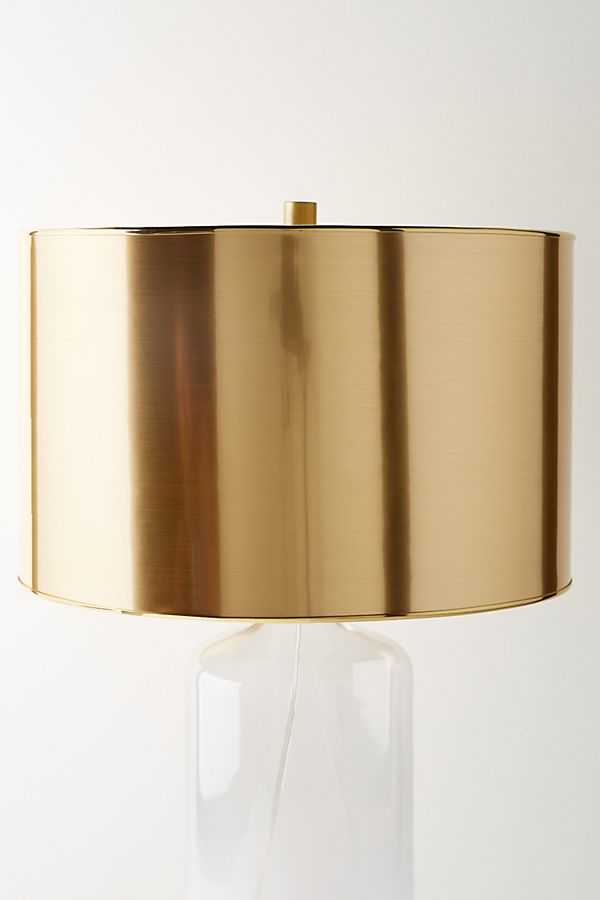 Slide view 1 metallic lamp shade