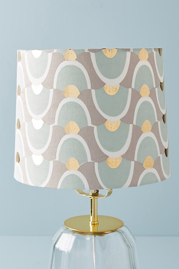 Tidal Motion Lamp Shade - Mint, Size S