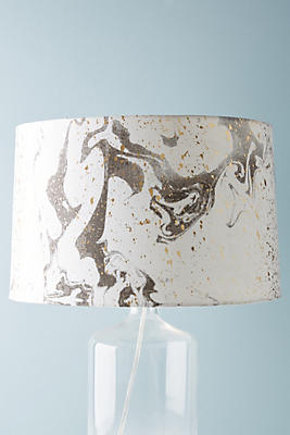 Slide view 1 marblesque lamp shade