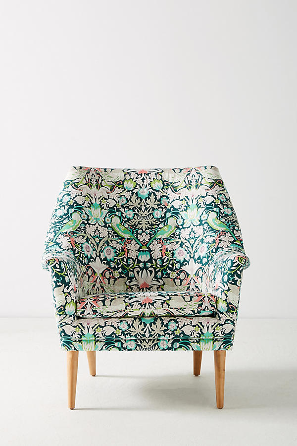 Slide View: 2: Liberty for Anthropologie Strawberry Thief Rivona Chair