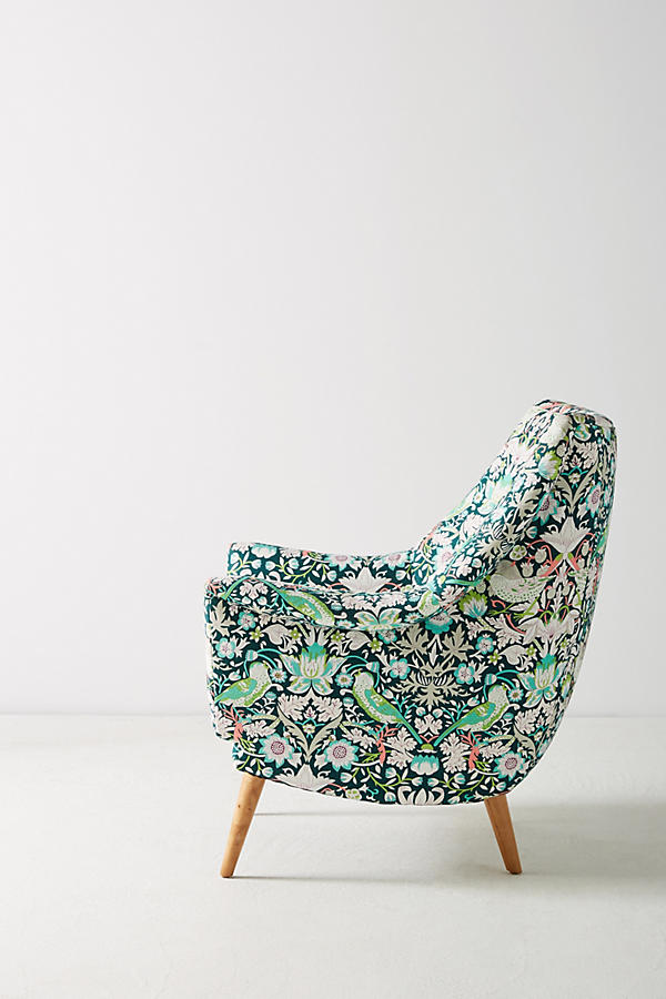 Slide View: 4: Liberty for Anthropologie Strawberry Thief Rivona Chair