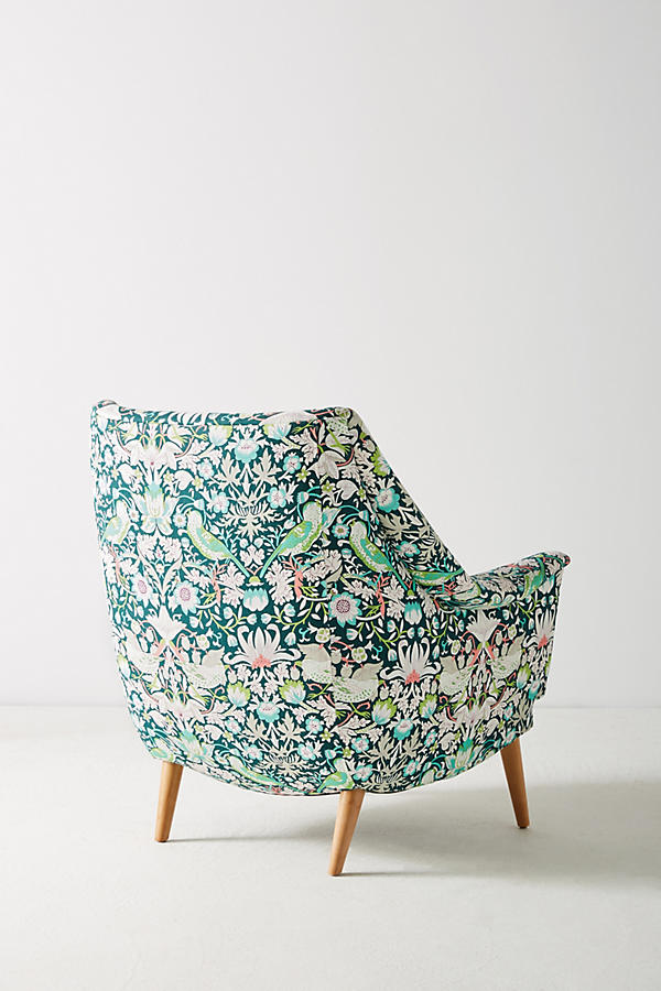 Slide View: 5: Liberty for Anthropologie Strawberry Thief Rivona Chair