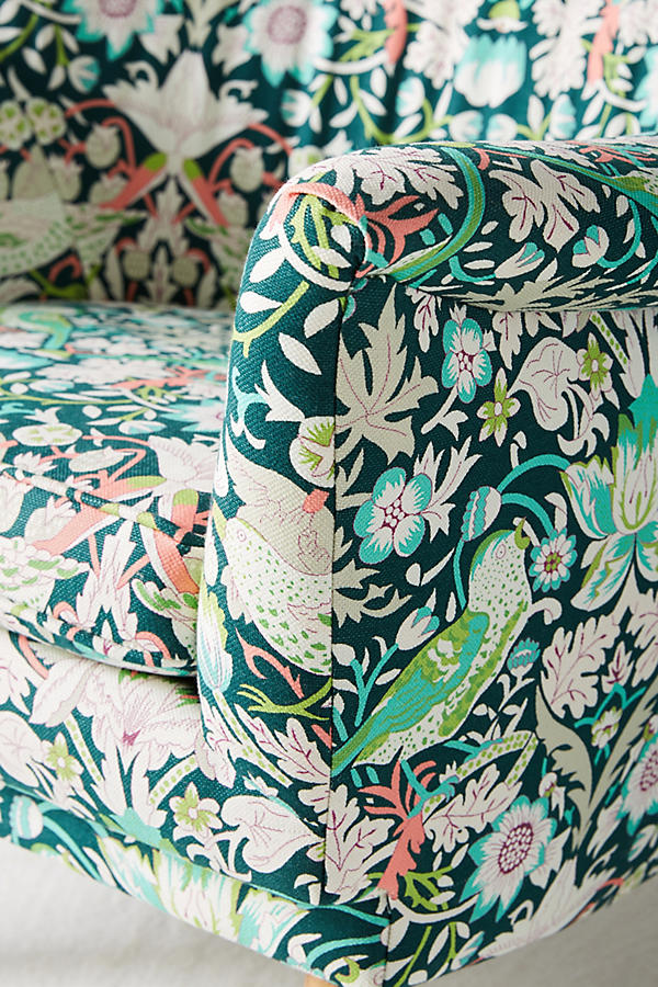 Slide View: 6: Liberty for Anthropologie Strawberry Thief Rivona Chair