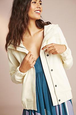 Slide View: 1: Weathered Hooded Jacket