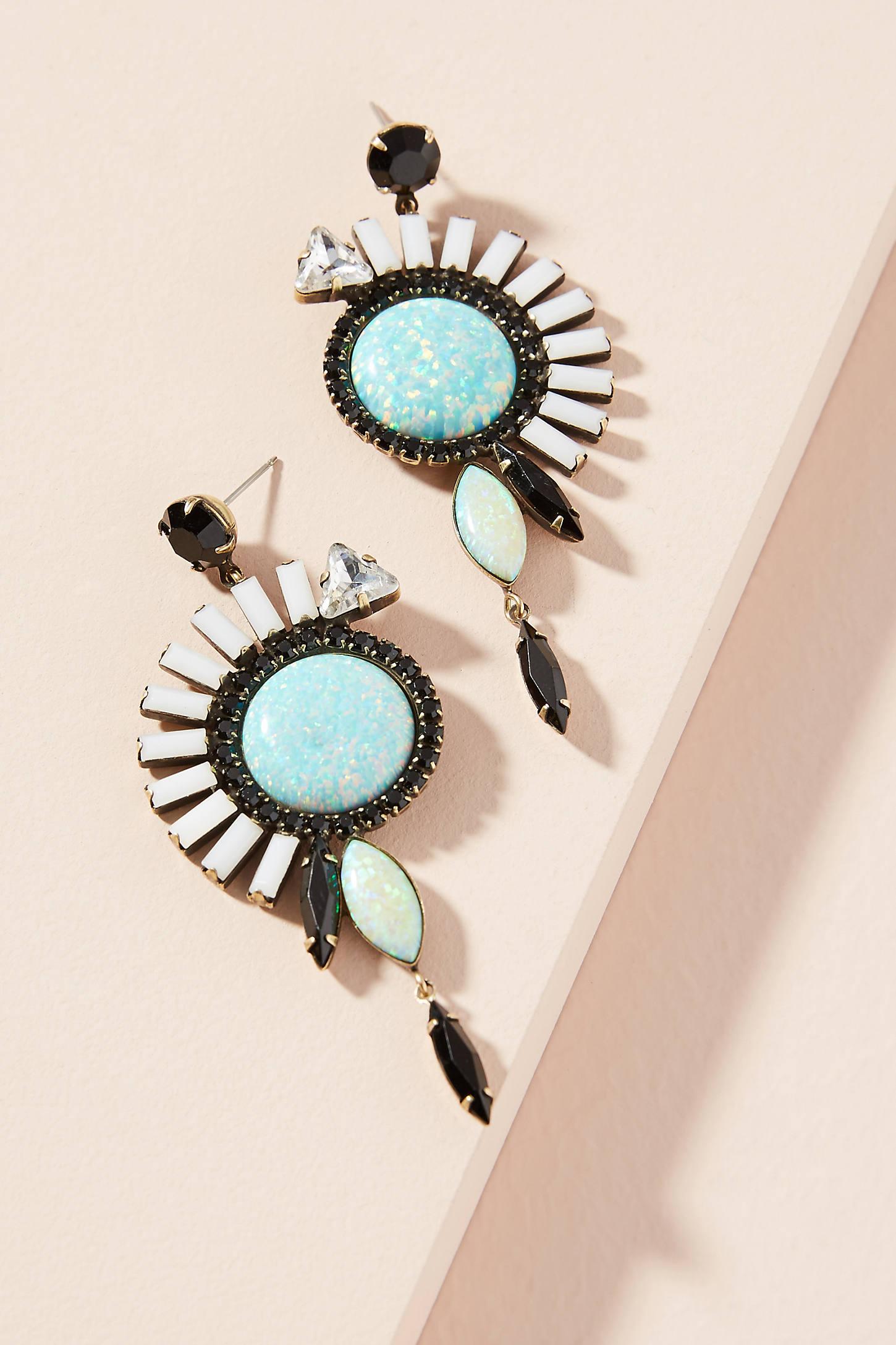 Mandolin Drop Earrings