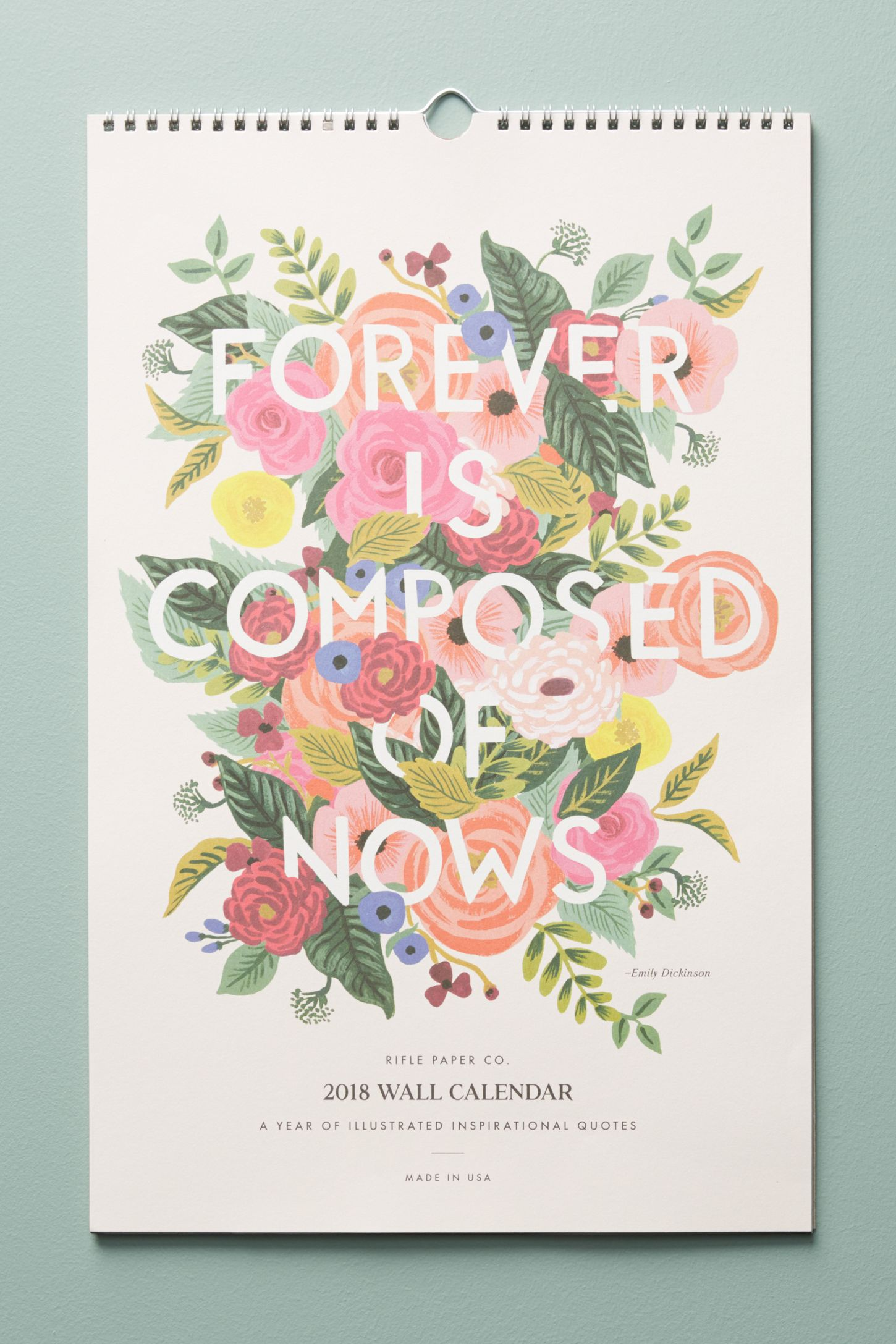 Quotes 2018 Calendar Quotes 2018 Calendar  Anthropologie