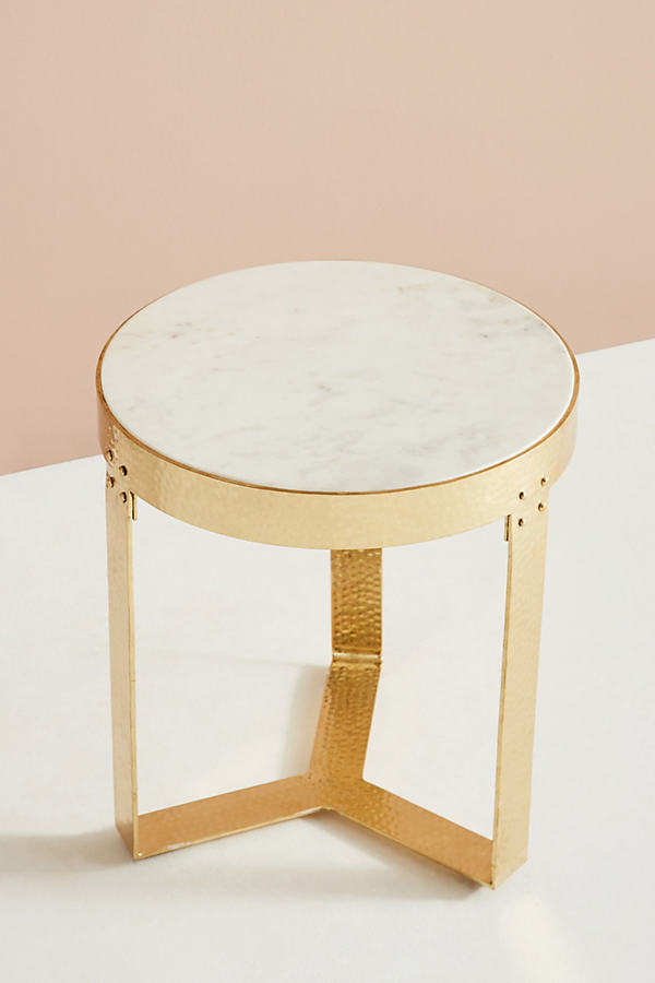 Lirit Side Table - White
