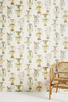 Slide View: 1: Living Vase Wallpaper