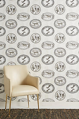 Slide View: 1: Wild Medallion Wallpaper