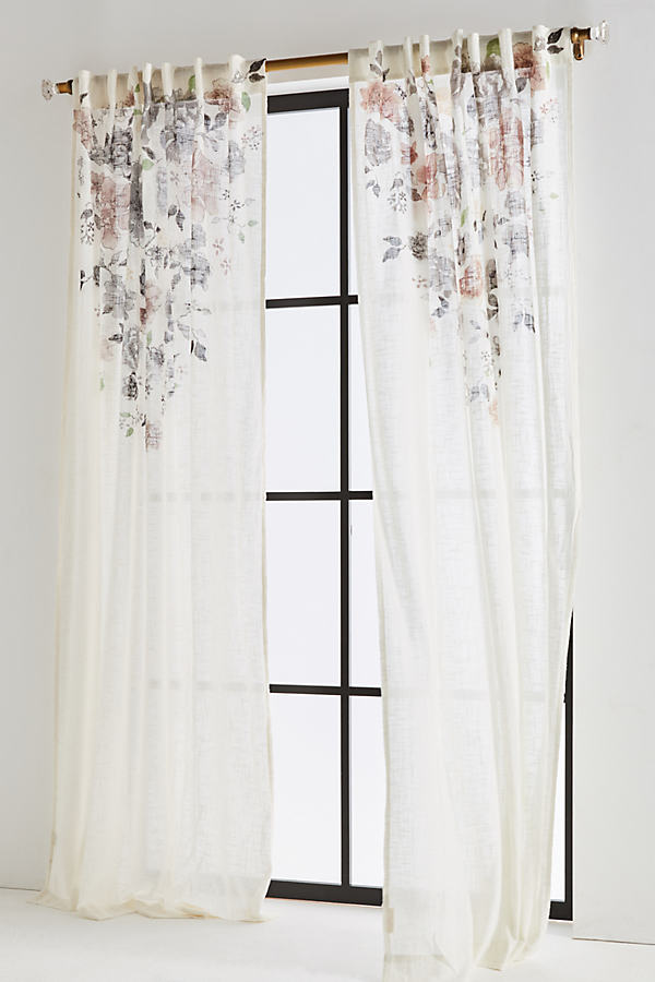 Felicity Curtain - Nude/chair, Size 50 X 84