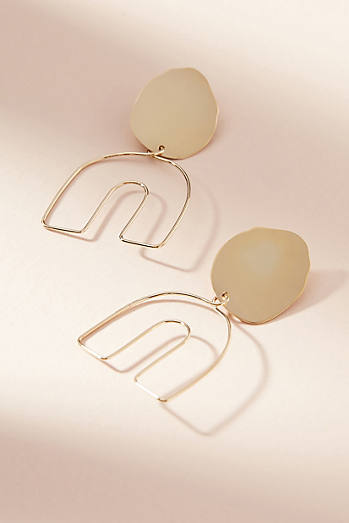 Petite Profile Drop Earrings
