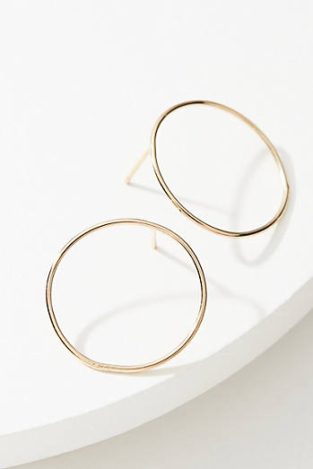 Boucles d'oreilles cercle simple