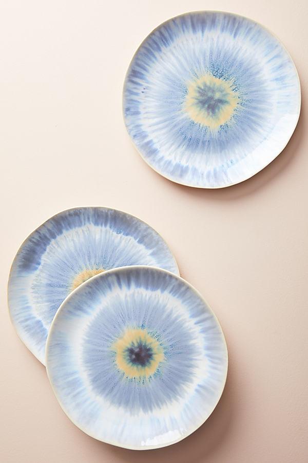 Radial Dinner Plate - Sky, Size Dinner