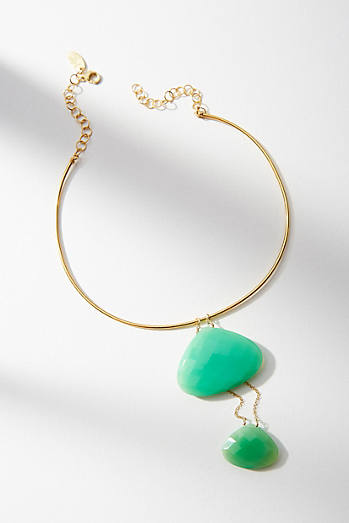 Selene Stone Collar Necklace