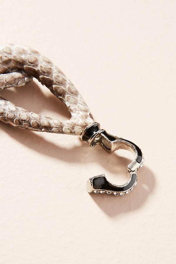Slide View: 3: Python Link Collar Necklace