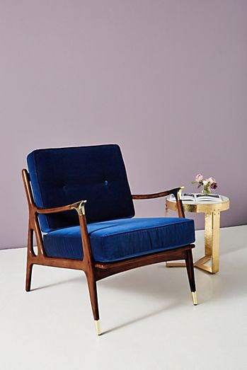 Velvet Haverhill Chair