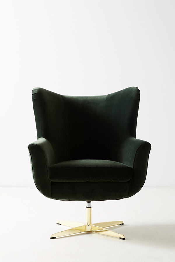 Adavale Swivel Chair - Holly