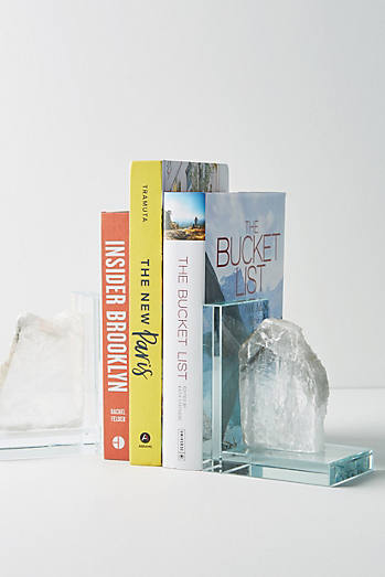 Selenite Bookends
