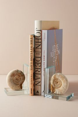 Slide View: 1: Fossil Form Bookends