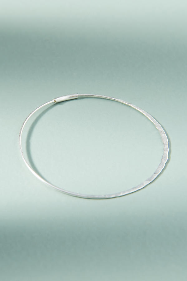 Slide View: 2: Isabel Hoop Earrings