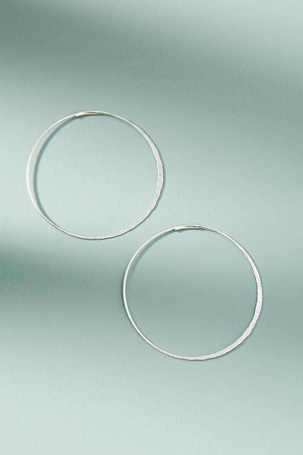 Slide View: 1: Isabel Hoop Earrings