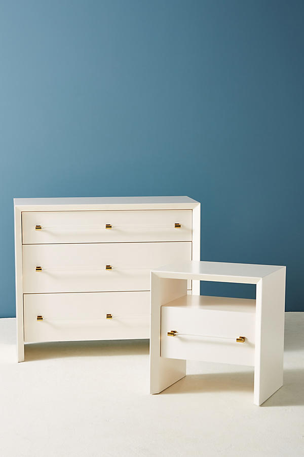 Slide View: 6: Merriton Three-Drawer Dresser