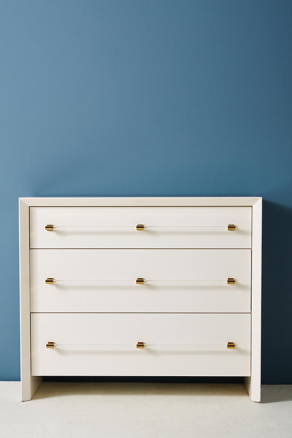 Slide View: 2: Merriton Three-Drawer Dresser