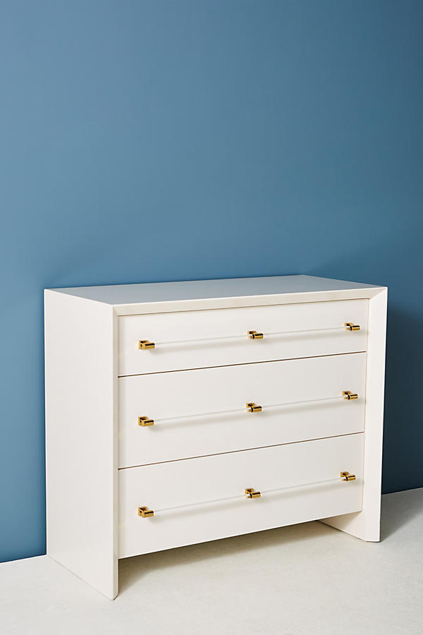 Slide View: 3: Merriton Three-Drawer Dresser