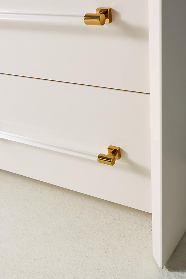 Slide View: 4: Merriton Three-Drawer Dresser