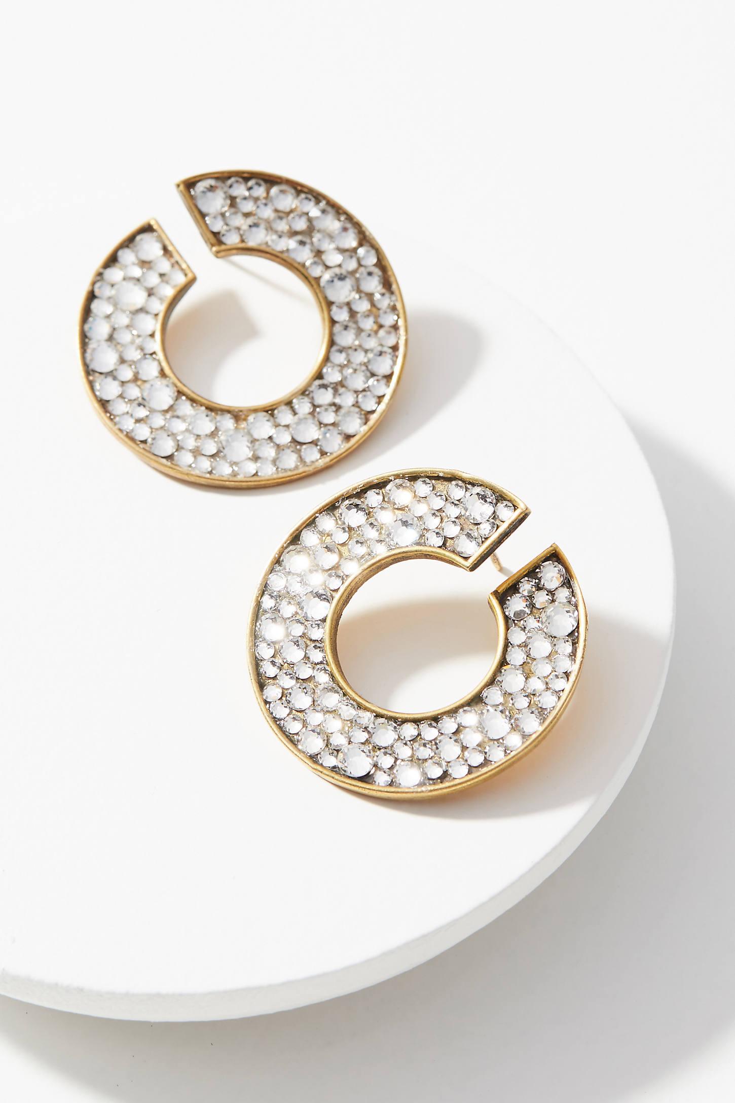 Infinity Crystal Earrings