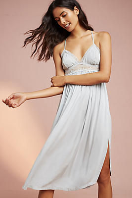 Slide View: 1: Eberjey Elvia Racerback Gown