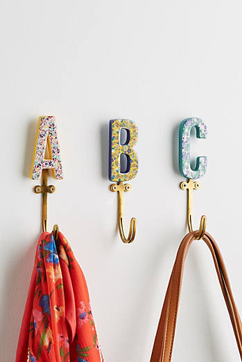 Colorful Wall Hooks shop decorative wall hooks & coat hooks | anthropologie