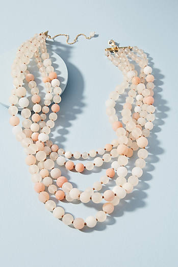 Summer Frost Layered Necklace