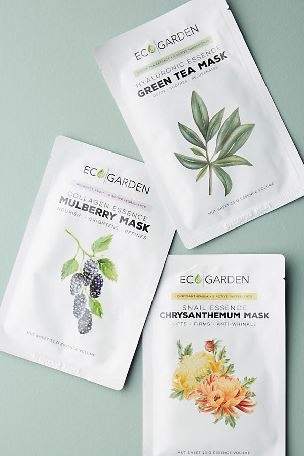 Eco Garden Essence Sheet Mask Set