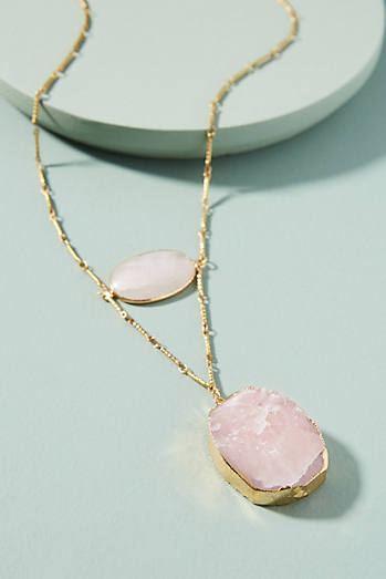 Moonstone Axis Necklace