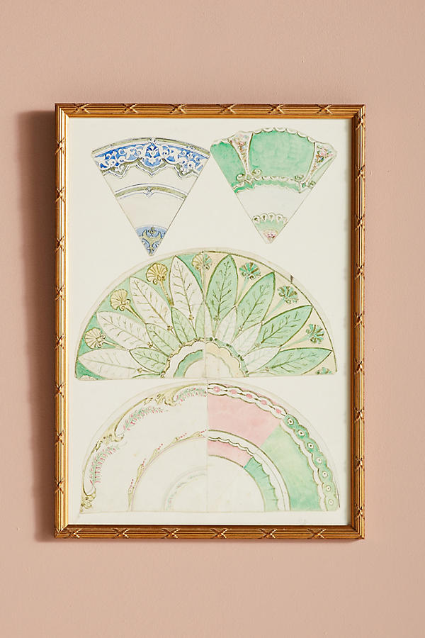 Slide View: 1: Plate Study Wall Art