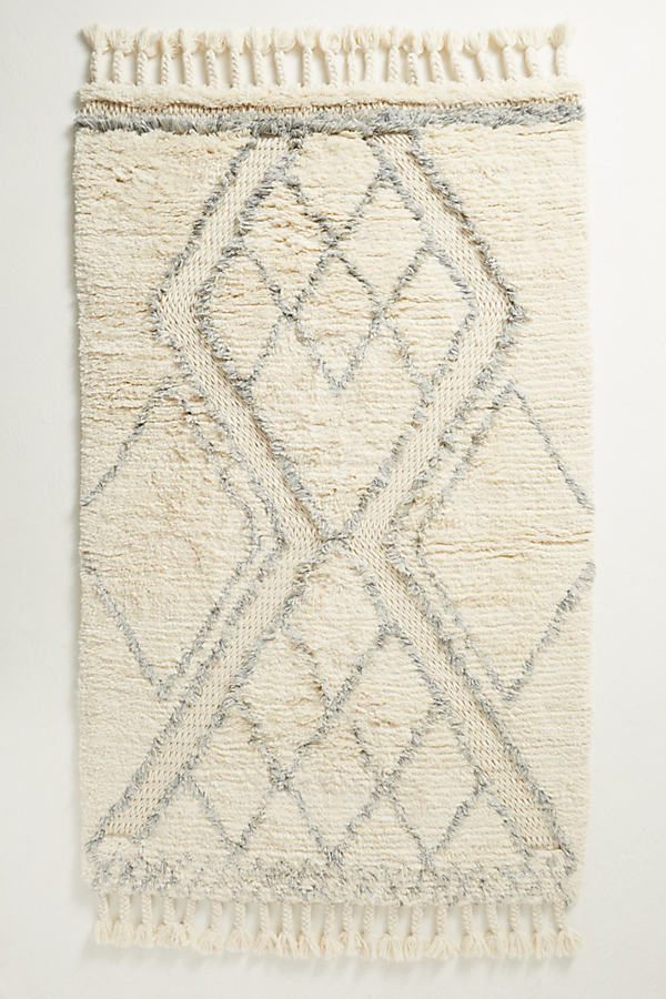 Nested Diamond Rug - Assorted, Size 3 X 5