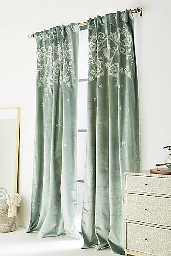 Embroidered Elondra Curtain