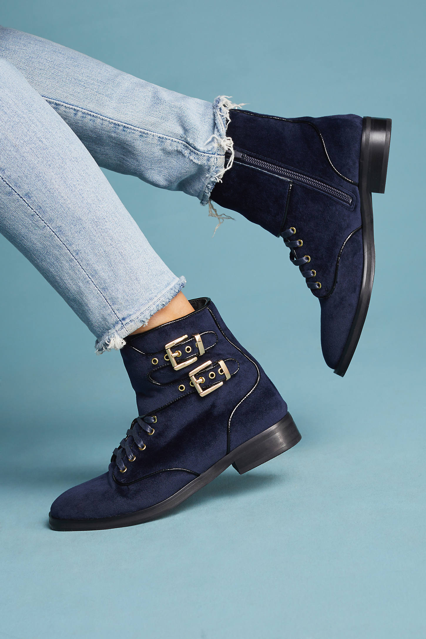Sol Sana Radio Lace-Up Boots