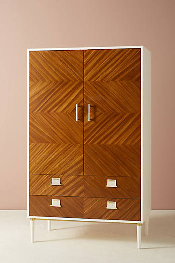Slide View: 2: Geo-Marquetry Armoire