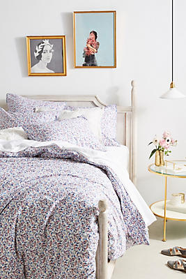 Slide View: 1: Liberty for Anthropologie Bonnie Bloom Duvet